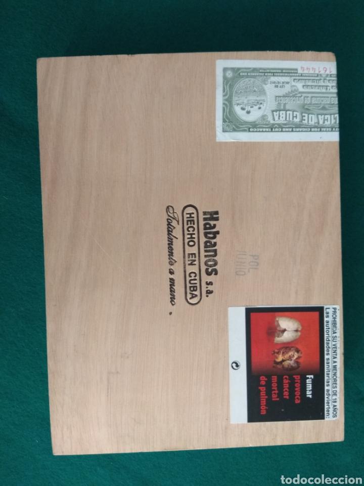 Cajas de Puros: Caja vacía puros habanos Montecristo Gran Edmundo Ed. limitada 2010 - Foto 4 - 172085529