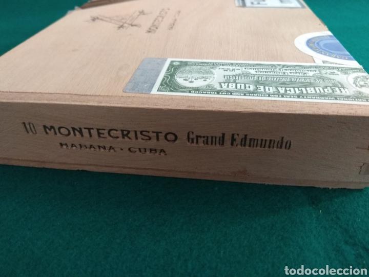 Cajas de Puros: Caja vacía puros habanos Montecristo Gran Edmundo Ed. limitada 2010 - Foto 5 - 172085529