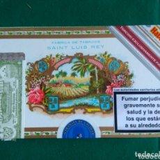 Cajas de Puros: CAJA VACÍA DE PUROS HABANOS SAINT LUIS REY 10 TESOROS. Lote 172126897