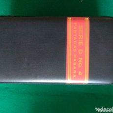 Cajas de Puros: HUMIDOR DE VIAJE PARTAGAS SERIE DE NO. 4 NUEVO. Lote 172127268