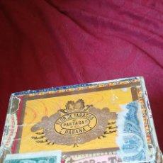 Cajas de Puros: ANTIGUA CAJA DE PUROS HABANOS, FLOR DE TABACOS. Lote 172349480