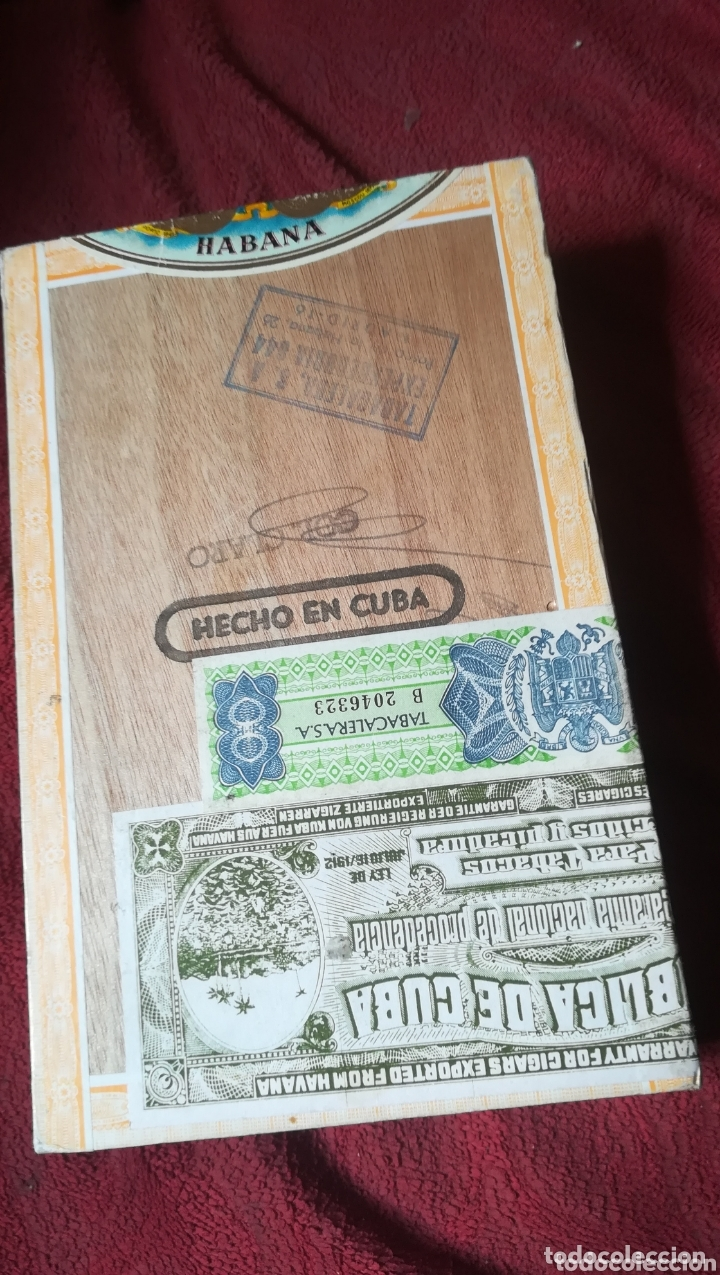 Cajas de Puros: Antigua caja de puros, H. UPMANN - Foto 2 - 172351244