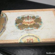 Cajas de Puros: CAJA DE PUROS MADE IN HAVANA CUBA H. UPMANN HABANA MENENDEZ GARCIA Y CIª LTD PRE REVOLUCION Nº 4. Lote 172563385
