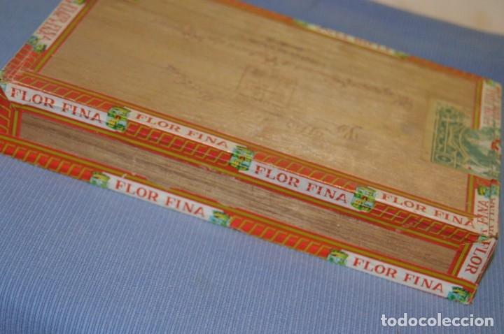 Cajas de Puros: LA FLOR DE LA ISABELA / 25 Brevas - Antigua caja precintada, sin abrir - De colección - ¡Mira! - Foto 5 - 173086177