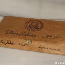 Cajas de Puros: CAJA DE PUROS VACIA - DON JULIAN Nº 2.. Lote 173139362