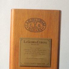 Cajas de Puros: ANTIGUA CAJA DE PUROS - LA GLORIA CUBANA - LA HABANA. Lote 173165295
