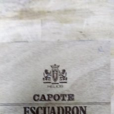 Cajas de Puros: HELIOS CAPOTE ESCUADRON CAPA NATURAL 12 PUROS. Lote 173205564