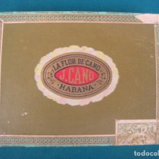 Cajas de Puros: CAJA DE PUROS LA FLOR DE CANO HABANA.. Lote 173213722