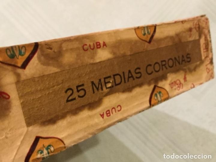 Cajas de Puros: LA FFLOR DE LIS ANTIGUA CAJA MADERA PUROS HABANOS FABRICA TABACOS DESIDERIO CAMACHO SANTA CLARA CUBA - Foto 5 - 173473209
