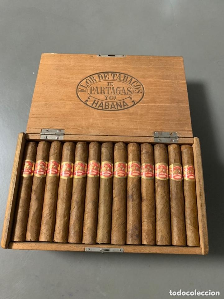 CAJA DE PUROS PARTAGAS CORONITAS DE LA REINA HABANA CUBA (Coleccionismo - Objetos para Fumar - Cajas de Puros)