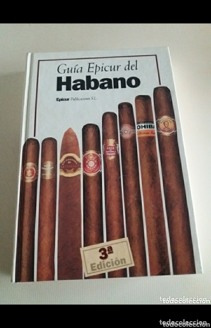 GUIA EPICUR DEL PURO HABANO TERCERA EDICION. EN CASI PERFECTAS CONDICIONES COMO SE PUEDE APRECIAR (Coleccionismo - Objetos para Fumar - Cajas de Puros)