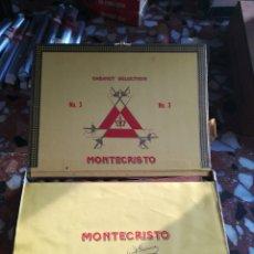 Cajas de Puros: 24 PUROS MONTE CRISTO NÚMERO 3. Lote 173872818