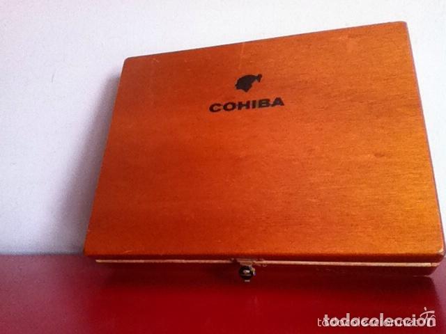 Cajas de Puros: COHIBA ESPLÉNDIDOS - CAJA 23 Unidades- PUROS HABANOS (17,8 cm) - Foto 4 - 173927467