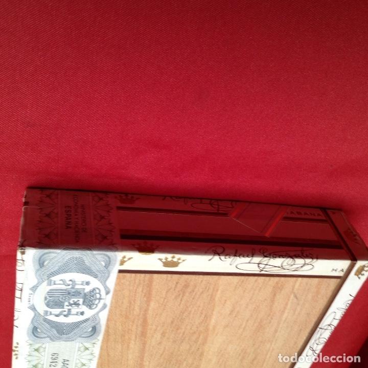 Cajas de Puros: Caja de puros , con 23 puros panetelas extras , año 2000, Rafael González Márquez objeto de colec - Foto 7 - 174012507