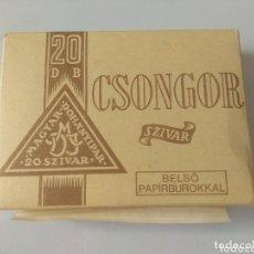 Cajas de Puros: PAQUETE DE 20 PUROS CONGIR SZIVAR HUNGRÍA 1991. Lote 174029142