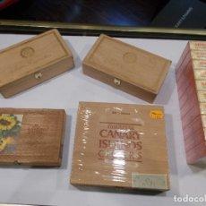 Cajas de Puros: LOTE VARIADO DE CAJAS DE PUROS (G). Lote 174092585