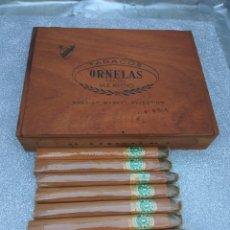 Boîtes de Cigares: CAJA PUROS ORNELAS MÉXICO +8 PUROS ORNELAS 1. Lote 174098878