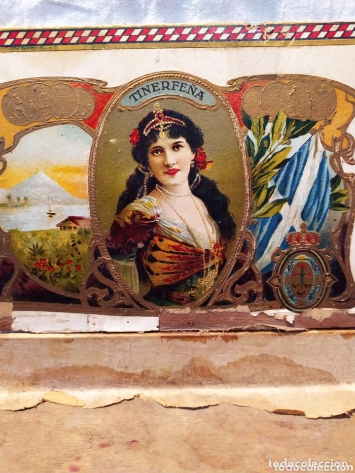Cajas de Puros: ÚNICA CAJA DE PUROS TINERFEÑA, MANUEL HERRERA, VER - Foto 6 - 174195383
