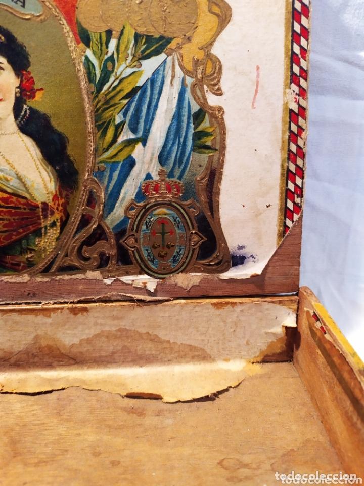 Cajas de Puros: ÚNICA CAJA DE PUROS TINERFEÑA, MANUEL HERRERA, VER - Foto 7 - 174195383