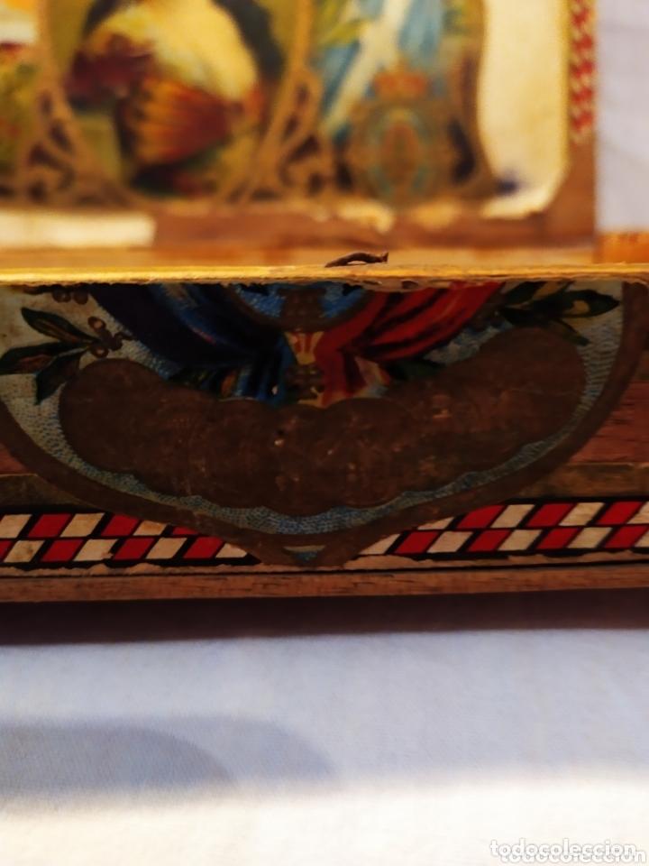 Cajas de Puros: ÚNICA CAJA DE PUROS TINERFEÑA, MANUEL HERRERA, VER - Foto 8 - 174195383