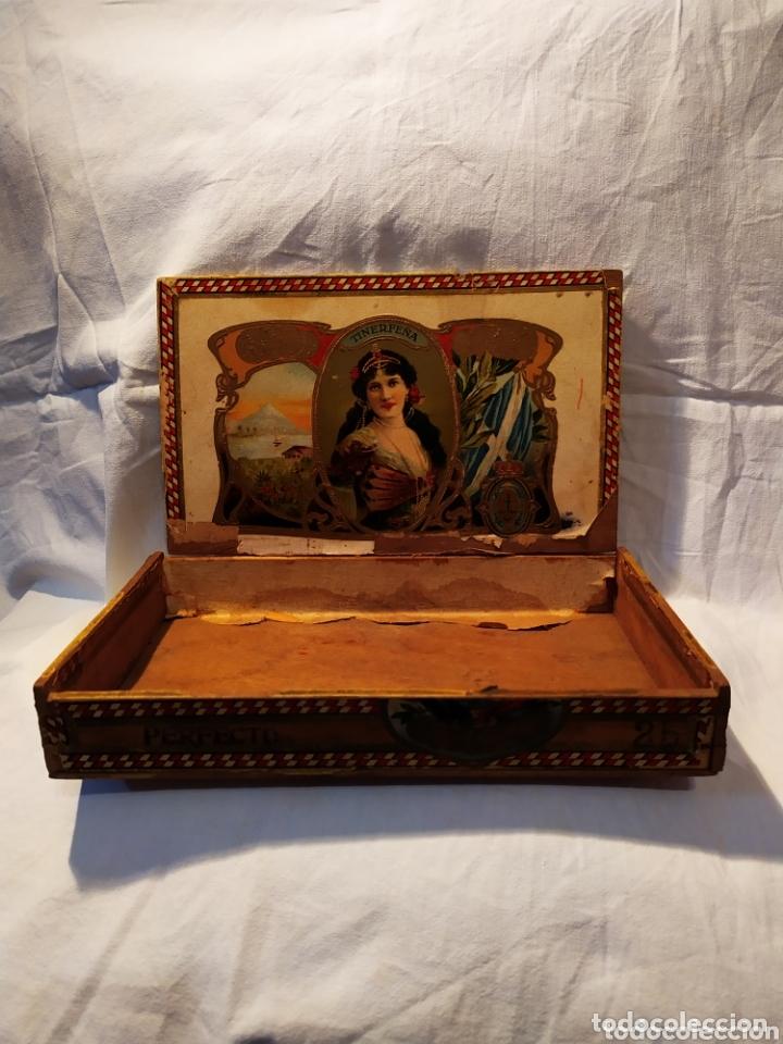 Cajas de Puros: ÚNICA CAJA DE PUROS TINERFEÑA, MANUEL HERRERA, VER - Foto 11 - 174195383