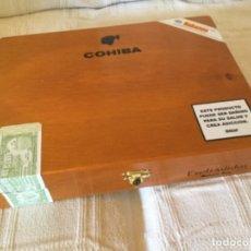 Cajas de Puros: CAJA VACÍA DE PUROS HABANOS COHIBA ESPLÉNDIDOS HABANA CUBA. Lote 174386063