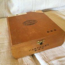 Cajas de Puros: CAJA VACÍA DE PUROS HABANOS PARTAGAS. Lote 174386662