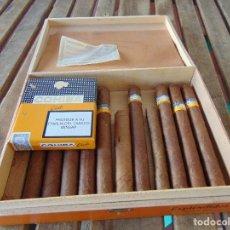 Cajas de Puros: CAJA DE PUROS COHIBA EXPLENDIDOS CON 11 PUROS Y CAJA COHIBA CLUB CON 15 MINI PUROS HABANOS CUBA. Lote 174964452