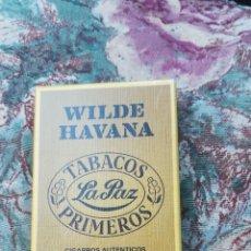 Cajas de Puros: CAJA CON 5 PUROS, WILDER HAVANA. Lote 175024885