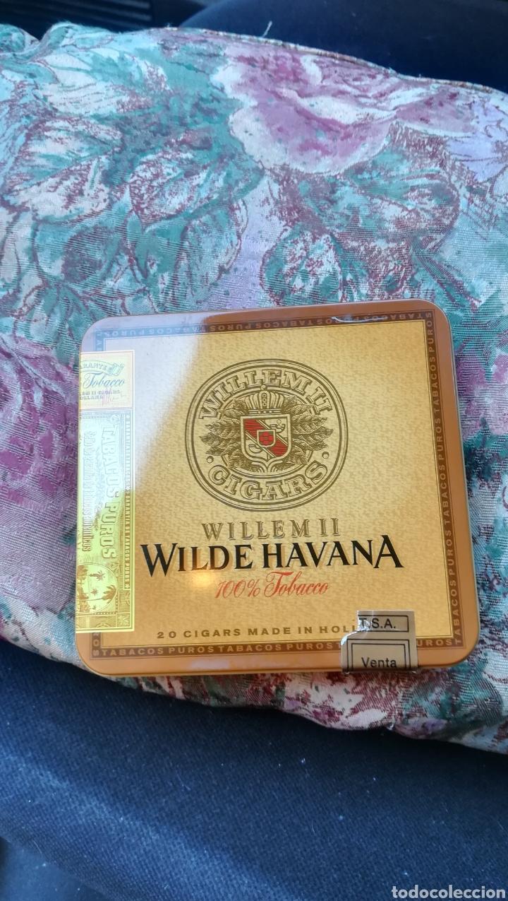 CAJA DE PUROS, WILLEM II, WILDER HAVANA (Coleccionismo - Objetos para Fumar - Cajas de Puros)