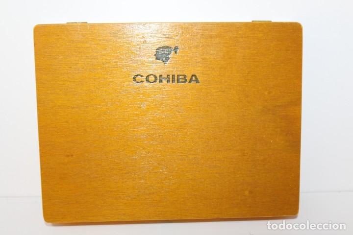 Cajas de Puros: CAJA DE PUROS COMPLETA - COHIBA ESPLENDIDOS - Foto 2 - 175110905