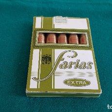 Cajas de Puros: CAJA DE 5 PUROS FARIAS EXTRA (COMPLETA). Lote 175280725