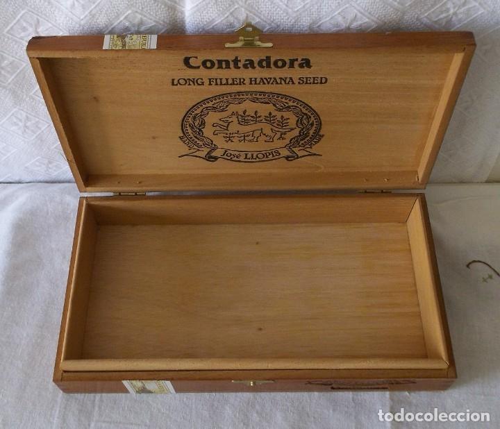 Cajas de Puros: CAJA PUROS JOSE LLOPIS-CONTADORA - Foto 2 - 211442140
