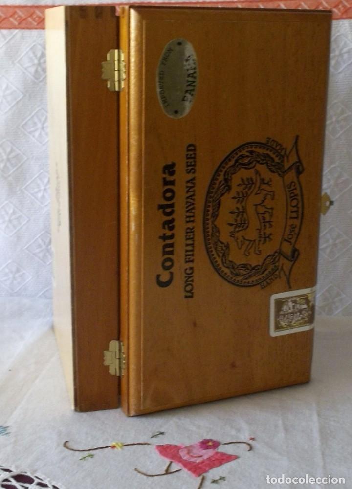 Cajas de Puros: CAJA PUROS JOSE LLOPIS-CONTADORA - Foto 3 - 211442140
