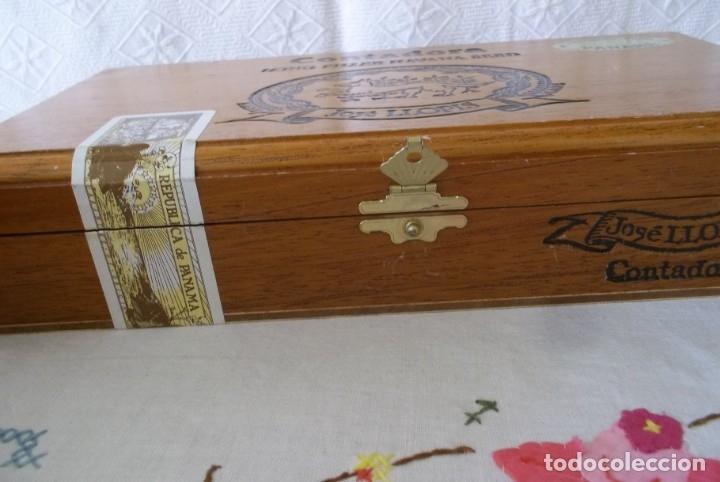 Cajas de Puros: CAJA PUROS JOSE LLOPIS-CONTADORA - Foto 4 - 211442140