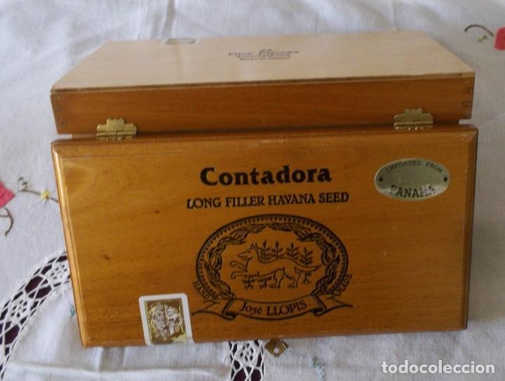 Cajas de Puros: CAJA PUROS JOSE LLOPIS-CONTADORA - Foto 9 - 211442140