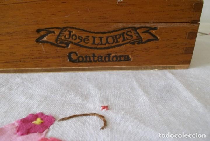 Cajas de Puros: CAJA PUROS JOSE LLOPIS-CONTADORA - Foto 11 - 211442140