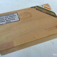 Cajas de Puros: CAJA DE PUROS VACIA HOYO DE MONTERREY DE JOSÉ GENER,25 REGALOS,HABANA,CUBA.. Lote 175709025