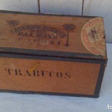 Cajas de Puros: CAJA ANTIGUA DE PUROS PALMITO BEJUCAL CUBA EN CEDRO,SIGLO XIX. Lote 175714838