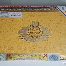 Cajas de Puros: ANTIGUA CAJA DE PUROS HABANOS FLOR DE TABACOS PARTAGAS (25 PERFECTOS EN CELOFAN). Lote 175825184