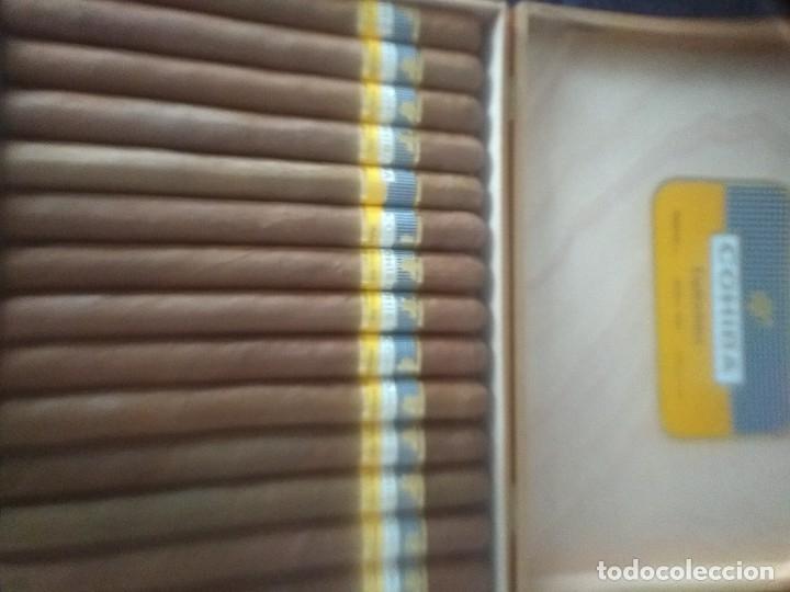CAJA DE COHIBA (Coleccionismo - Objetos para Fumar - Cajas de Puros)
