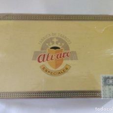Cajas de Puros: CAJA PUROS ÁLVARO 25 CEDROS SIN ABRIR. Lote 176179930