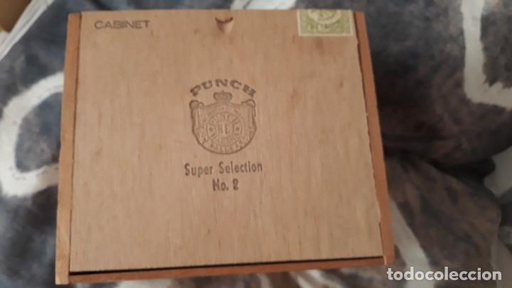 CAJA DE PUROS CUBANOS (Coleccionismo - Objetos para Fumar - Cajas de Puros)