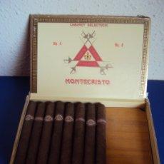 Cajas de Puros: (TA-190951)CAJA MONTECRISTO Nº4 - HABANA - CUBA - PRECIO DE SALIDA 1 EURO. Lote 176414437