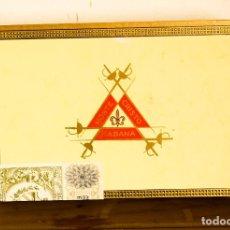 Cajas de Puros: MONTECRISTO - HABANA - 25 MONTECRISTO Nº 4 - CAJA COMPLETA PRECINTADA. Lote 176418324