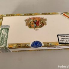 Cajas de Puros: CAJA VACIA DE PUROS ROMEO Y JULIETA. Lote 176733852