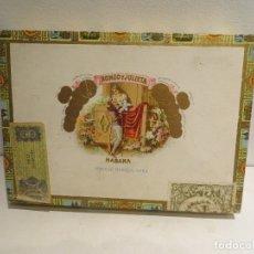 Cajas de Puros: CAA PUROS ROMEO Y JULIETA Nº1 EN TUBO ALUMINIO HAY 8 DE 10 MUY BIEN CONSERVADOS,BUEN PRECIO. Lote 177066383