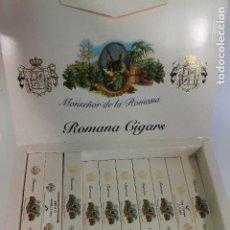 Cajas de Puros: CAJA CON 13 PUROS MONSEÑOR DE LA HABANA ROMANA CIGARS 20 ESPECIALES C . Lote 177088557