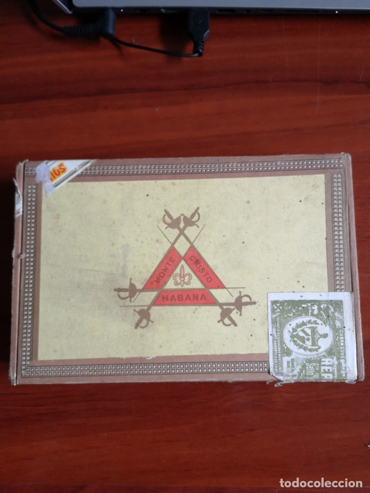 CAJA DE PUROS MONTECRISTO N 5 CABINET SELECTION (Coleccionismo - Objetos para Fumar - Cajas de Puros)