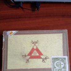 Cajas de Puros: CAJA DE PUROS MONTECRISTO N 5 CABINET SELECTION . Lote 177233624